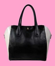FURLA Olimpia Black M Gel East West Tote Shopper Bag $280.00 *FREE S/H*