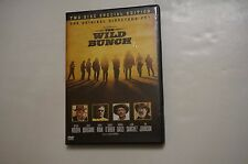 THE WILD BUNCH TWO DISC DVD SPECIAL EDITION DIRECTOR'S CUT EXTRAS WILLIAM HOLDEN