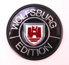 Genuine Wolfsburg Fender Emblem VW Jetta Golf MK2 Vanagon - 321 853 675 B