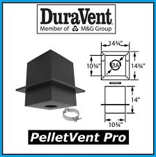 "DURAVENT PELLETVENT PRO Pipe 3"" Diameter Cathedral Support Box #3PVP-CS NEW!"