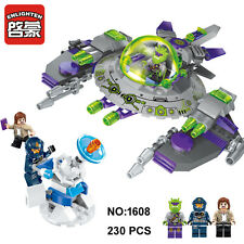 Enlighten 1608 Space Adventure Alien Attack Airplane Figure Building Blocks Toy