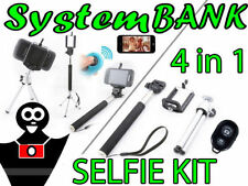 Selfie KIT 4in1 Monopode Trépied Obturateur à distanc Bluetooth pour Smartphones