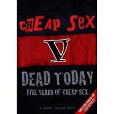 CHEAP SEX - DEAD TODAY: 5 YEARS OF CHEAP SEX DVD BEST OF INTERNATIONAL PUNK NEU