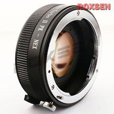 Zhongyi Lens Turbo II Focal Reducer Booster Adapter Pentax K PK to Sony E NEX 5T