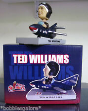 Ted Williams Fighter Pilot WAR HERO Lowell Spinners 2008 Bobble Bobblehead SGA