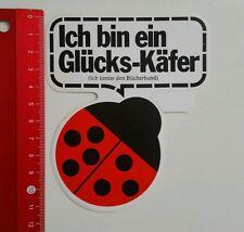 Aufkleber/Sticker: Bücherbund Glücks Käfer (270416198)