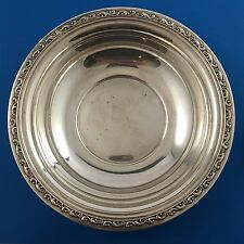 "REED & BARTON X832 Sterling Silver 9.5"" Vegetable Serving Bowl Dish"