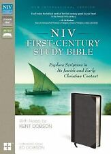 NIV First-Century Study Bible: Explore Scripture in Its Jewish and Early Christi