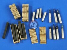 Verlinden 1/35 105mm NATO Tank Ammo Shells, Cartridges & Open/Closed Crates 2689