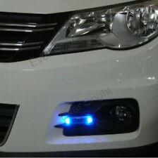 1X Waterproof  8SMD LED Solar Car Auto Multifunction Fog Flashing Light Lamp