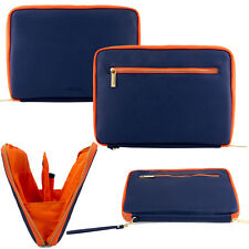 Blue Orange Tablet Sleeve Pouch Case For Samsung Galaxy Tab S2/Tab E/Tab A 9.7""