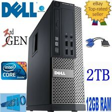 Dell OptiPlex i7 7010 sff.quad CORE 3,40 GHz 3770.12 GB,2 TB hd.win10 pro.graphics