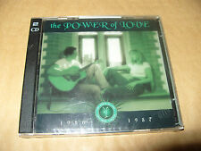 The Power Of Love 1986-1987 2 cd Time Life 30 tracks 1997 Unplayed crack on case