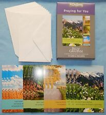 Box of 12 Billy Graham Praying For You Cards {DaySpring} 75992 - New