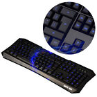 Blu-ray LED Illuminated USB Wired Silent Gaming Keyboard For PC Laptop Big Sale