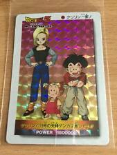 Carte Dragon Ball Z DBZ PP Card Part 24 #1038 Prisme (Version Hard) AMADA 1994