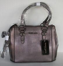 NWT Franco Sarto Clarkson tote Leather handbags Gunmetal retail  $159