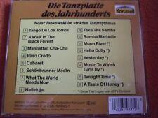 Horst Jankowski Die Tanzplatte des Jahrhunderts (1967/84, Karussell) [CD]