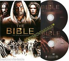SEALED The Bible DVD NEW The Epic Miniseries 4-Disc Set 2013 La Biblia BRAND NEW