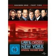 LAW & ORDER: NEW YORK SEASON 1 PART 2 - 3 DVD NEU C. MELONI,MARISKA HARGITAY