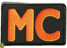 ORANGE MC Club Motorcycle Embroidered NEW Biker Outlaw 1% Vest Patch!