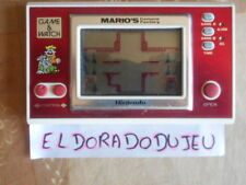 ELDORADODUJEU   JEU LCD NINTENDO GAME & WATCH : MARIO' CEMENT FACTORY