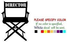 """Movie Director Chair Vinyl Decal Sticker Car Sticker truck Window laptop 7"""""""