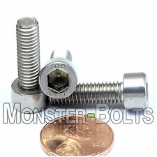 6mm x 1.0 x 20mm - Qty 10 - DIN 912 Stainless Steel SOCKET HEAD CAP Screws M6