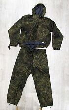 ORIGINAl Russian Army Ratnik VKBO waterproof membrane suit in Digital Flora camo