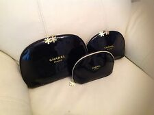 Chanel Set Of 3 Makeup Bags