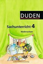 DUDEN Sachunterricht Klasse 4 Arbeitsheft Niedersachsen Grundschule Sachkunde
