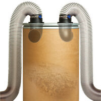 Dust Right® 4 in Dust Separator Components, with FREE Downloadable Plan!