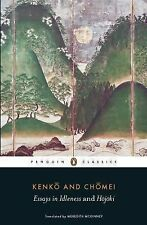 Essays in Idleness and Hojoki by Kenko and Kamo Chomei (2014, Paperback)