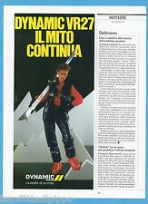 AIRONE982-PUBBLICITA'/ADVERTISING-1982- DYNAMIC SKIS VR27