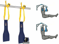TOP GYM AB SLINGS AB STRAP JMABS  Universal Fitting Hanging Gym Pull UPS JM-ABS