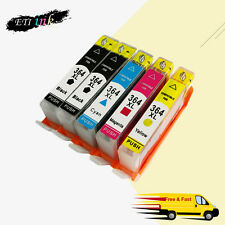 Compatible Ink Cartridge For HP 364 XL Use in Photosmart 5510 6520 2BK+1C/M/Y