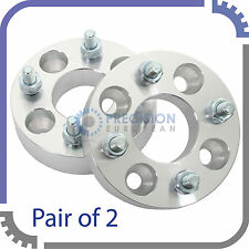 """(2) 1"""" 4x100 to 4x4.5 Wheel Spacers Adapters 