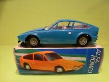 ANKER ALFA ROMEO 1300 ZAGATO JUNIOR - BLUE 1:20 - VERY GOOD CONDITION IN BOX