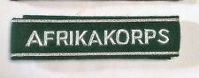 German Army OFFICERS AFRIKA KORPS CUFF TITLE  FOR ARM