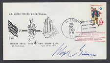 Dolph Briscoe, Texas Governor, Signed US Armed Forces Bicentennial cover.