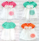 Baby Girls Polka Dot Candy Color Summer Dress Kids One-piece Dress Skirt 0-3Year