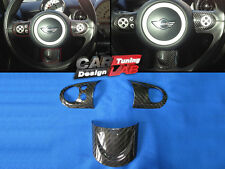 Sport Carbon Steering Wheel Spoke Cover For MINI COOPER S R55 R56 R57 R58 R59