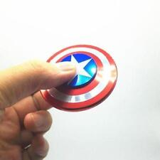 Captain America Fidget Hand Spinner Shield Toy EDC Focus ADHD Autism For Kids
