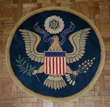 The Great Seal Wool Accent Rug for Home or Office