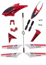 Syma  full Replacement Parts Set Head Coverfor Syma S107G RC Helicopter Red