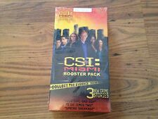 CSI MIAMI BOOSTER PACK 3 New Crime Stories For Board Game Or On Its Own NEW