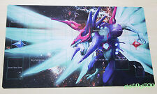 E268# Free Mat Bag Galaxy-Eyes Photon Dragon Playmat YUGIOH Play Mat Card Zones
