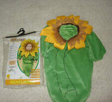 Baby Newborn Boy Girl Sunflower Bunting Rubies Halloween Costume Size 0-9