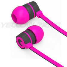2014 New Style Stereo 3.5mm Jack Earbuds Earphones w/ Mic ON/OFF Earphone Purple