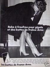 PUBLICITÉ 1978 LES BOTTES DE FRANCE ARNO - ADVERTISING